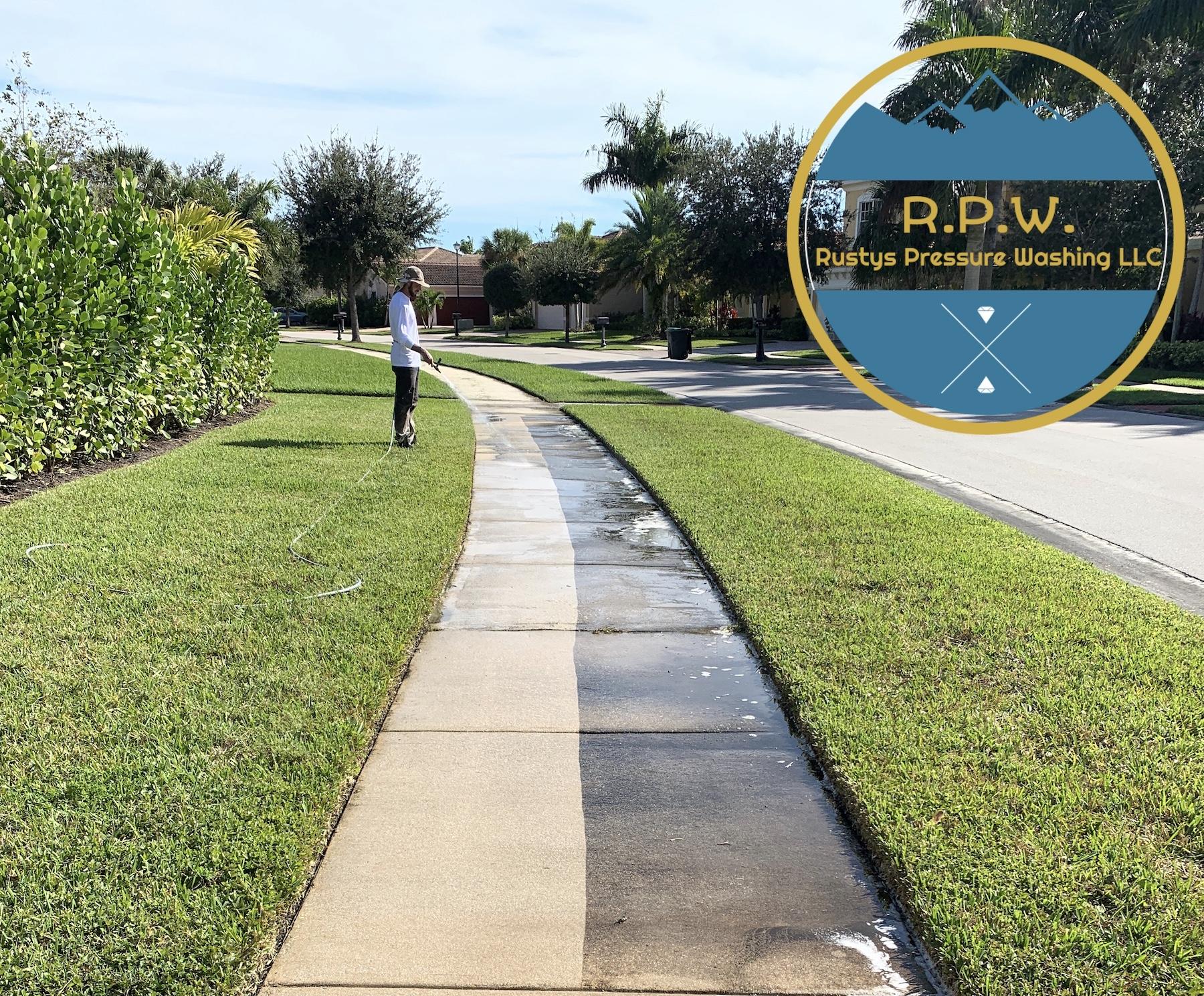Side Walk Cleaning