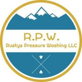 Rusty Pressure Washing Logo